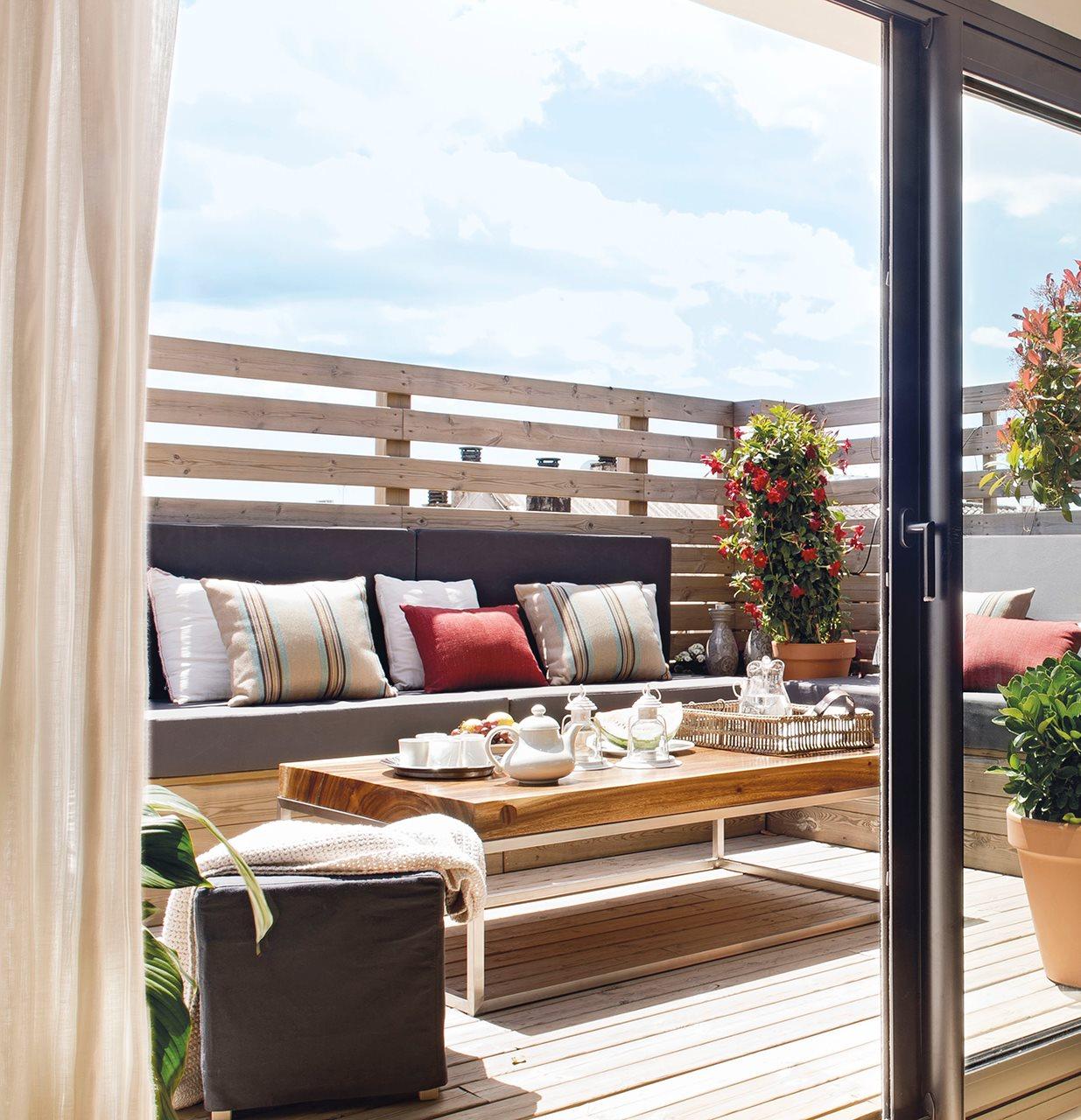 Crea tu terraza ideal en la ciudad for Terrazas urbanas diseno