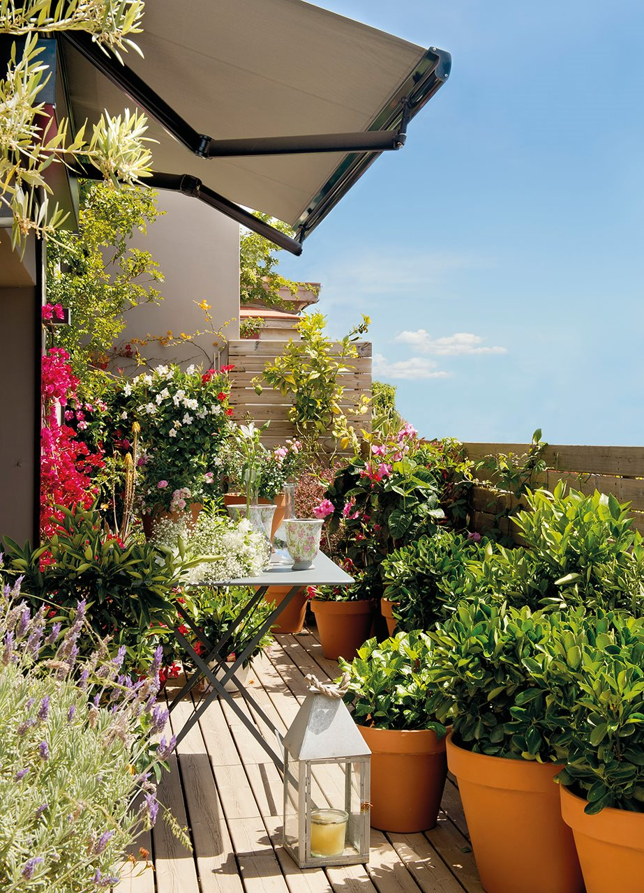Crea tu terraza ideal en la ciudad