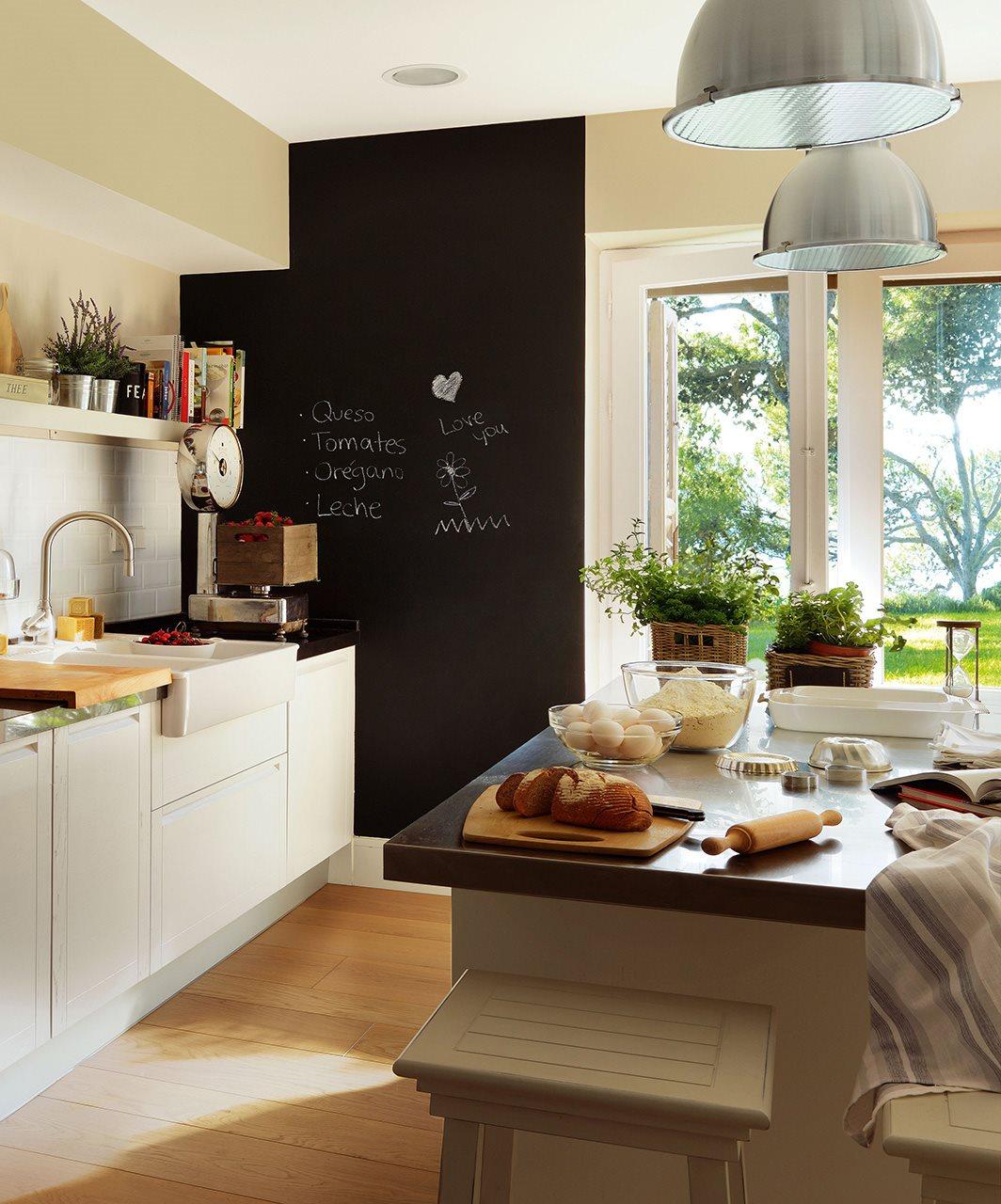 Cocinas para vivir en familia for Cocina comedor con isla