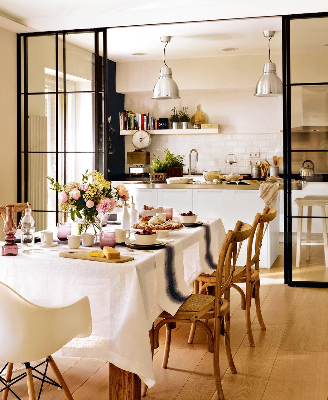 Cocinas para vivir en familia for Cocinas y comedores