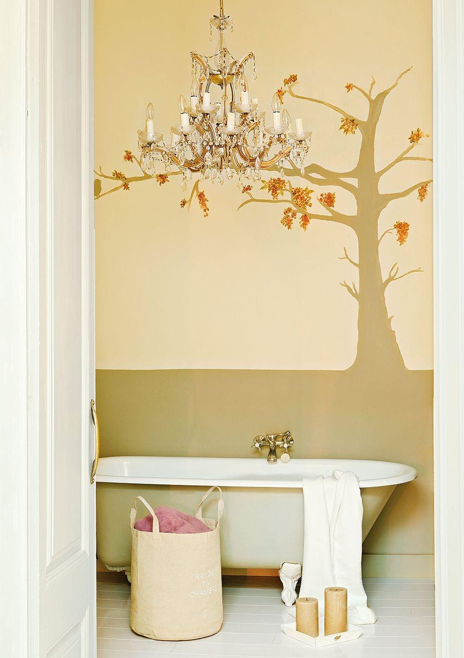 Lamparas Para Medio Baño:20 ideas para renovar tu casa ¡a todo color!