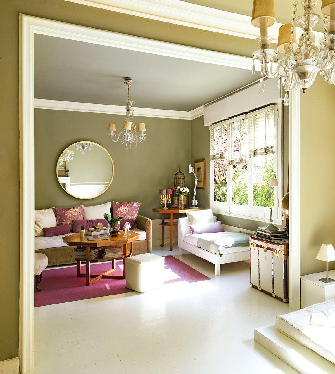 20 ideas para renovar tu casa a todo color - Casas color verde ...