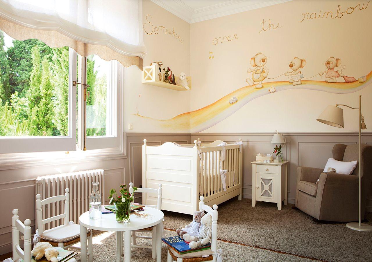 Ideas para pintar la habitaci n de los ni os - Pintar habitaciones infantiles ...