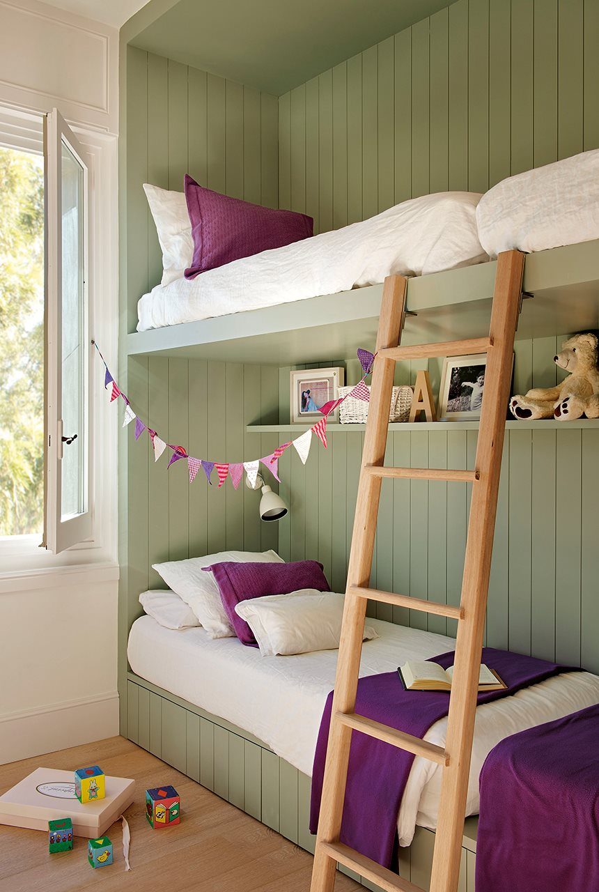 Ideas para pintar la habitaci n de los ni os for Great un bano con paredes en naranja de
