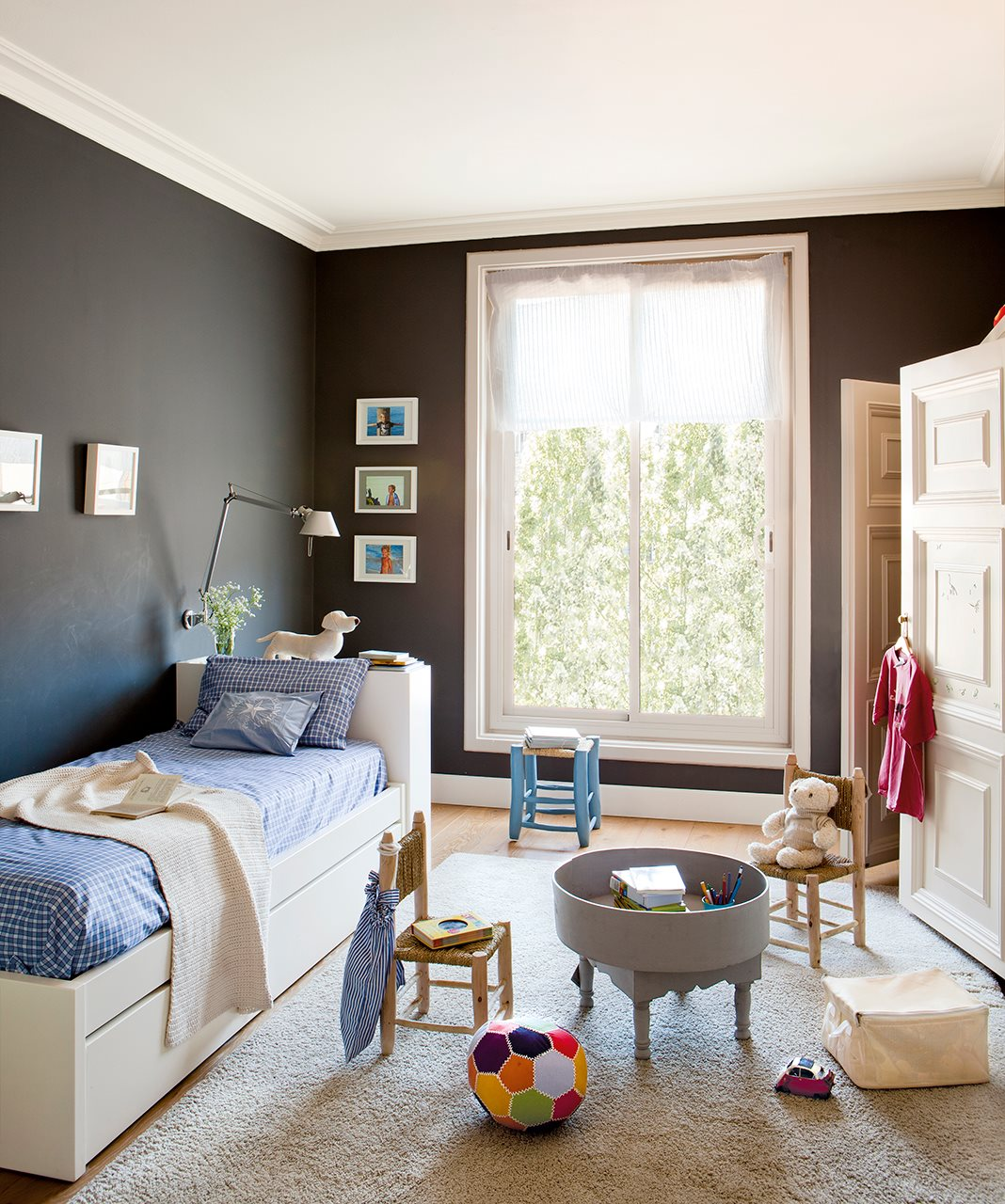 Ideas para pintar la habitaci n de los ni os - De que color pintar una habitacion ...