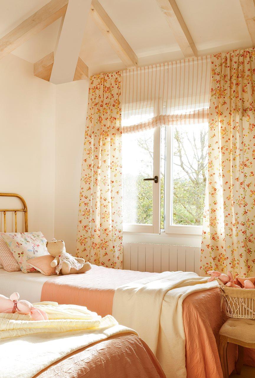 Una cortina para cada ventana - Cortinas para la habitacion ...
