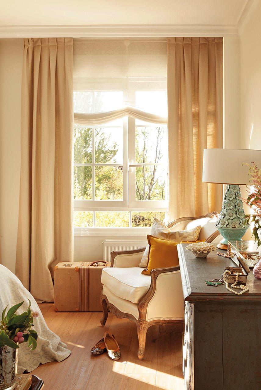 Cortinas para ventanas pequeas de cocina resultado de - Estor con cortina ...