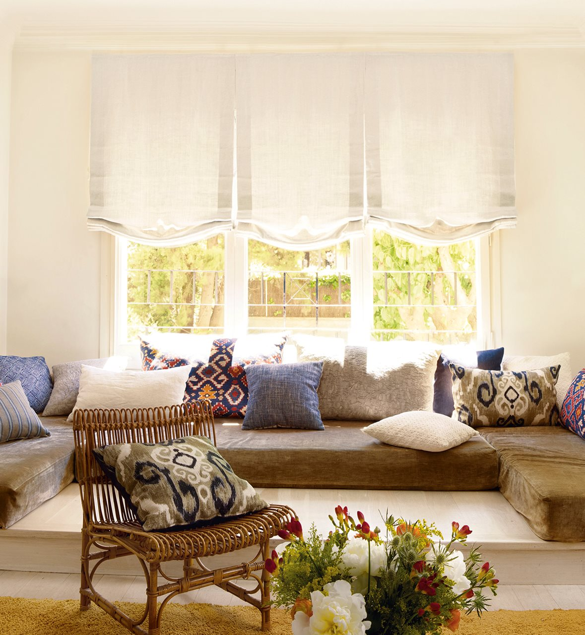 Una cortina para cada ventana - Lino 5 metre de large ...