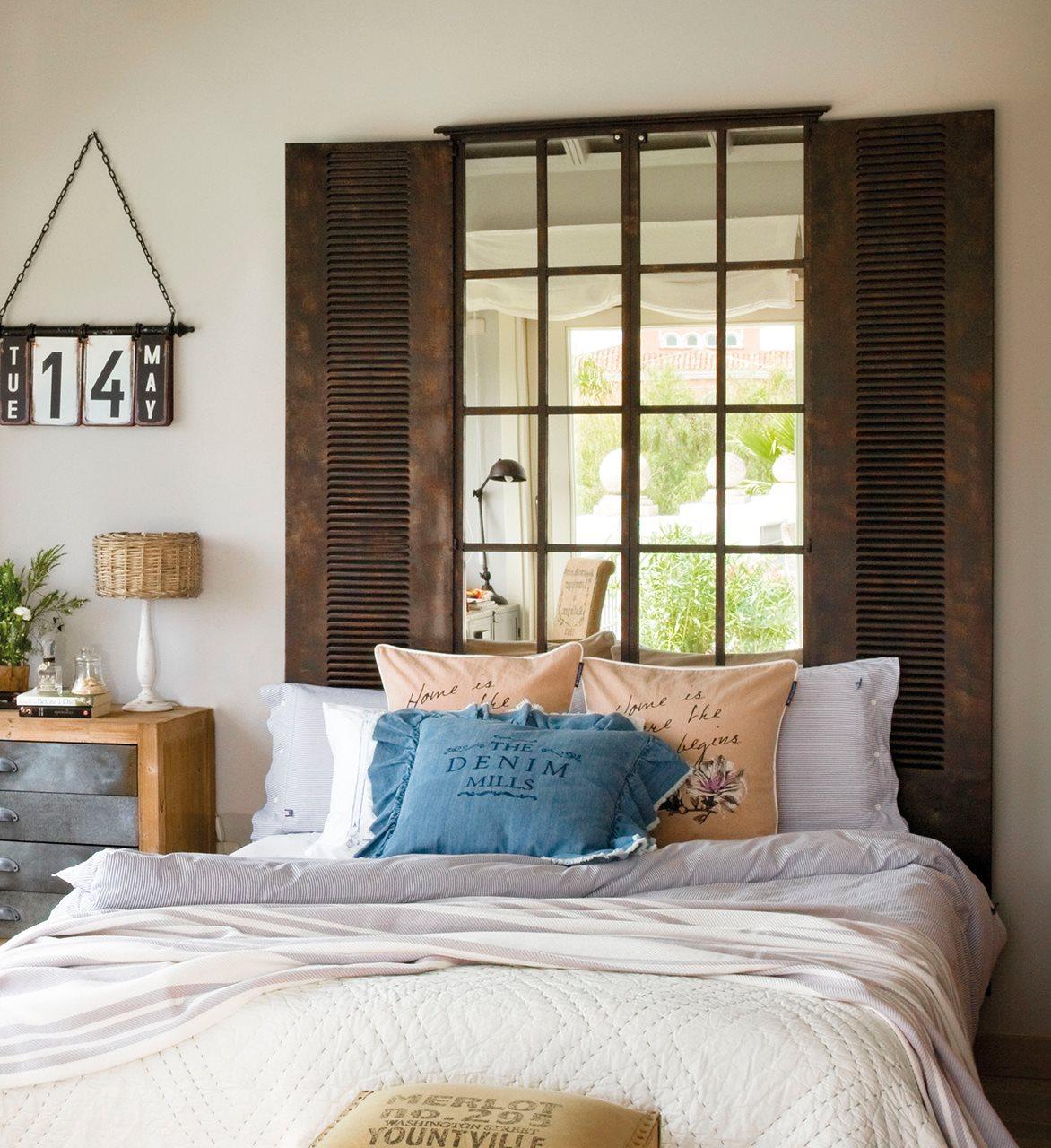 Diez cabeceros distintos adecuados para diferentes necesidades for Espejos en el dormitorio