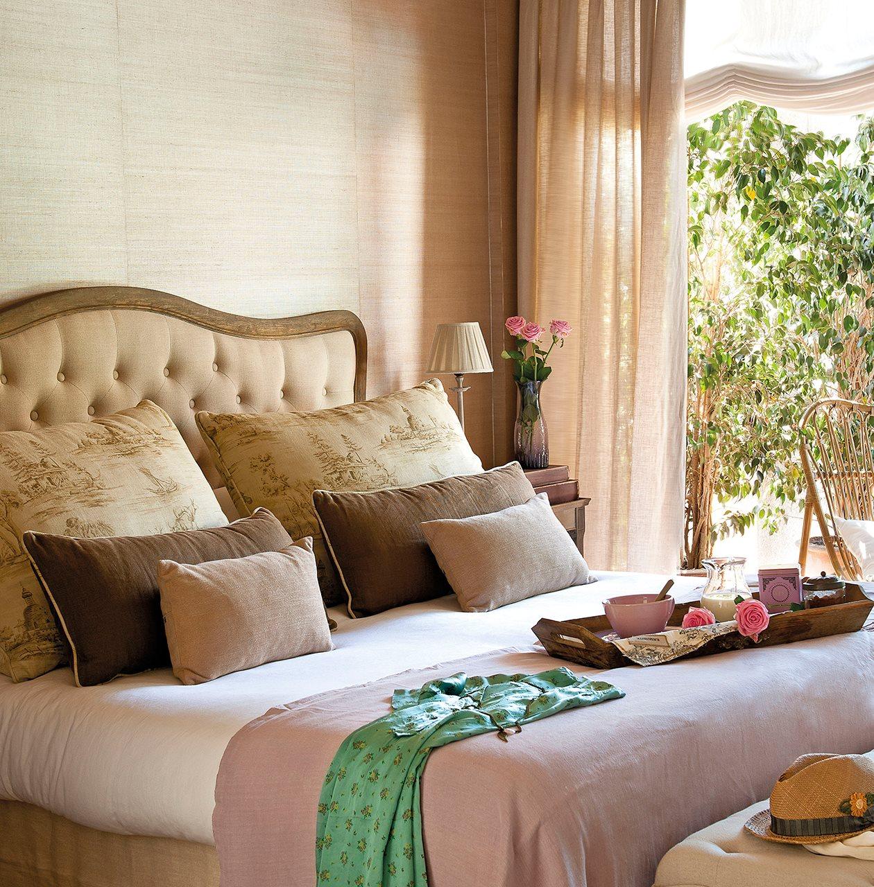 Diez cabeceros distintos adecuados para diferentes necesidades - Cabecero cama acolchado ...