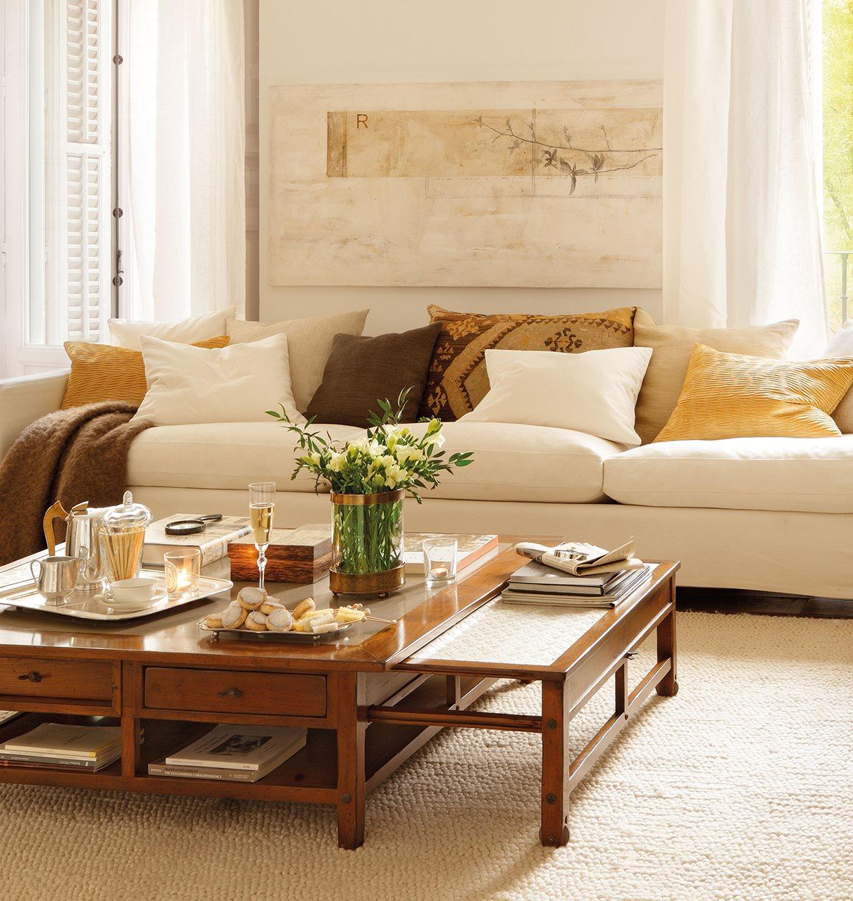 c mo elegir mesa de centro para el sal n. Black Bedroom Furniture Sets. Home Design Ideas
