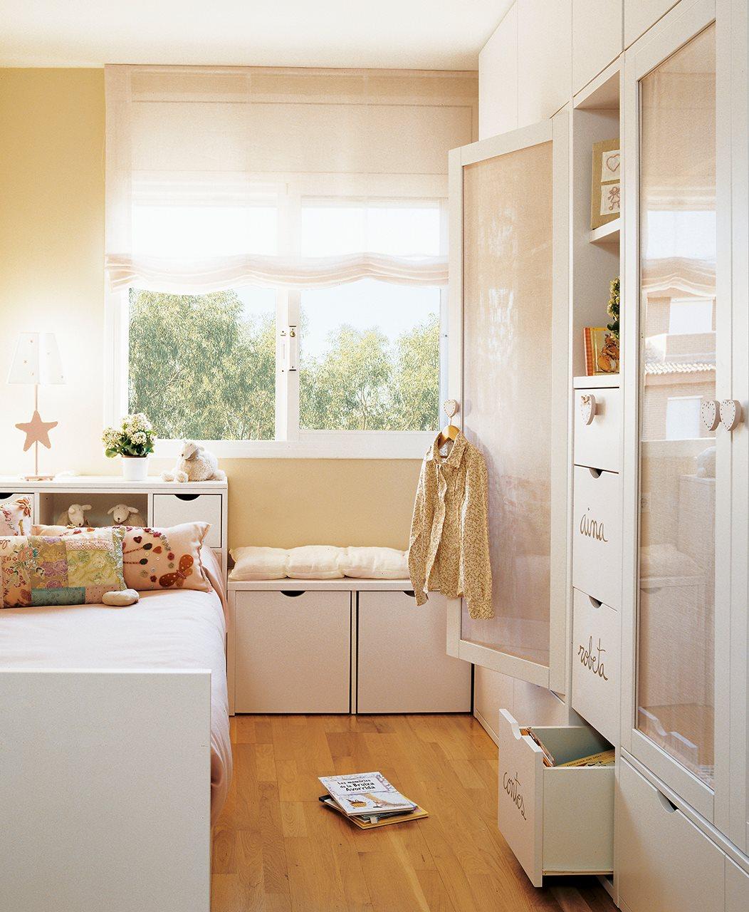 Cajones para tenerlo todo en orden - Dormitorio a medida ...