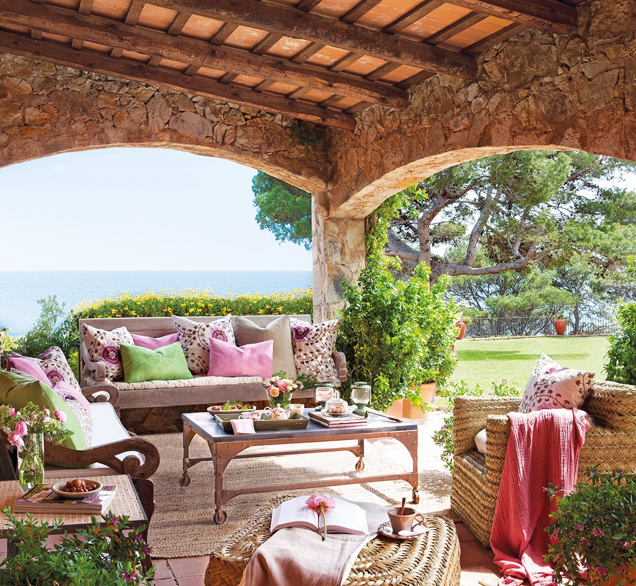 Porches Rusticos. Simple Lamparas Para Porches Rusticos With ...