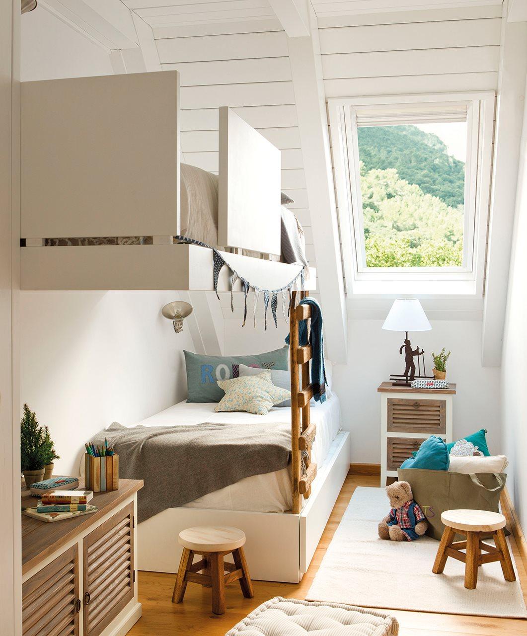 Literas De Dise O De El Mueble ~ Dormitorios Juveniles Para Espacios Muy Pequeños