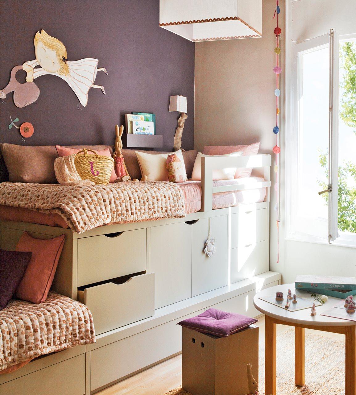 Ideas de almacenaje en habitaciones de ni os - Ideas para habitaciones de ninos ...