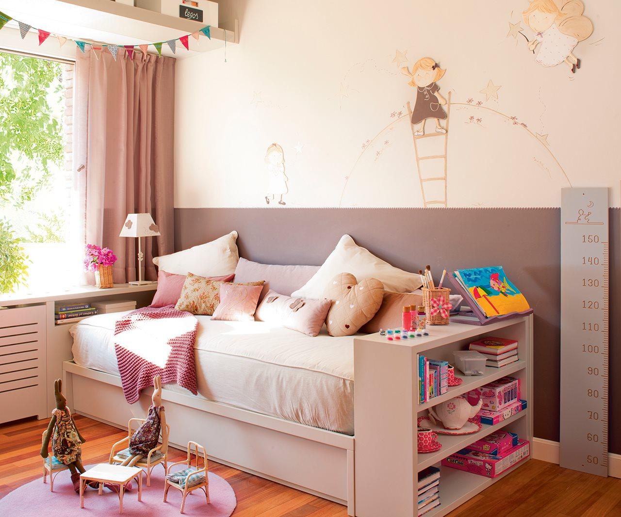 Ideas de almacenaje en habitaciones de ni os - Dormitorios infantiles ninas ...