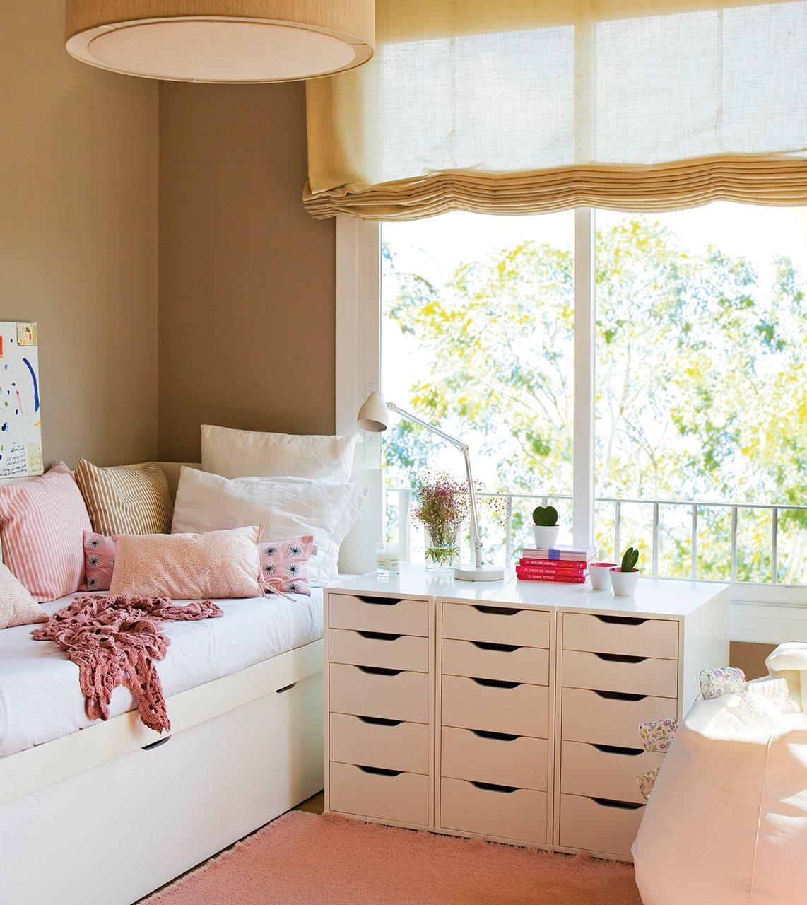 Ideas de almacenaje en habitaciones de ni os - Habitaciones para ninos ikea ...