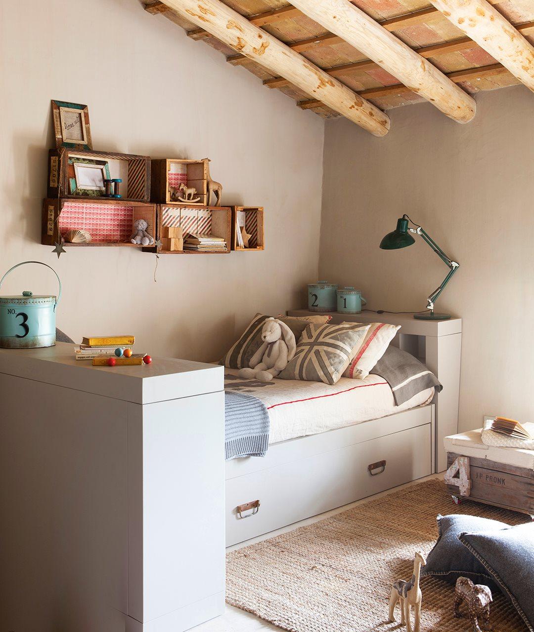 Ideas de almacenaje en habitaciones de ni os for Dormitorio juvenil nino
