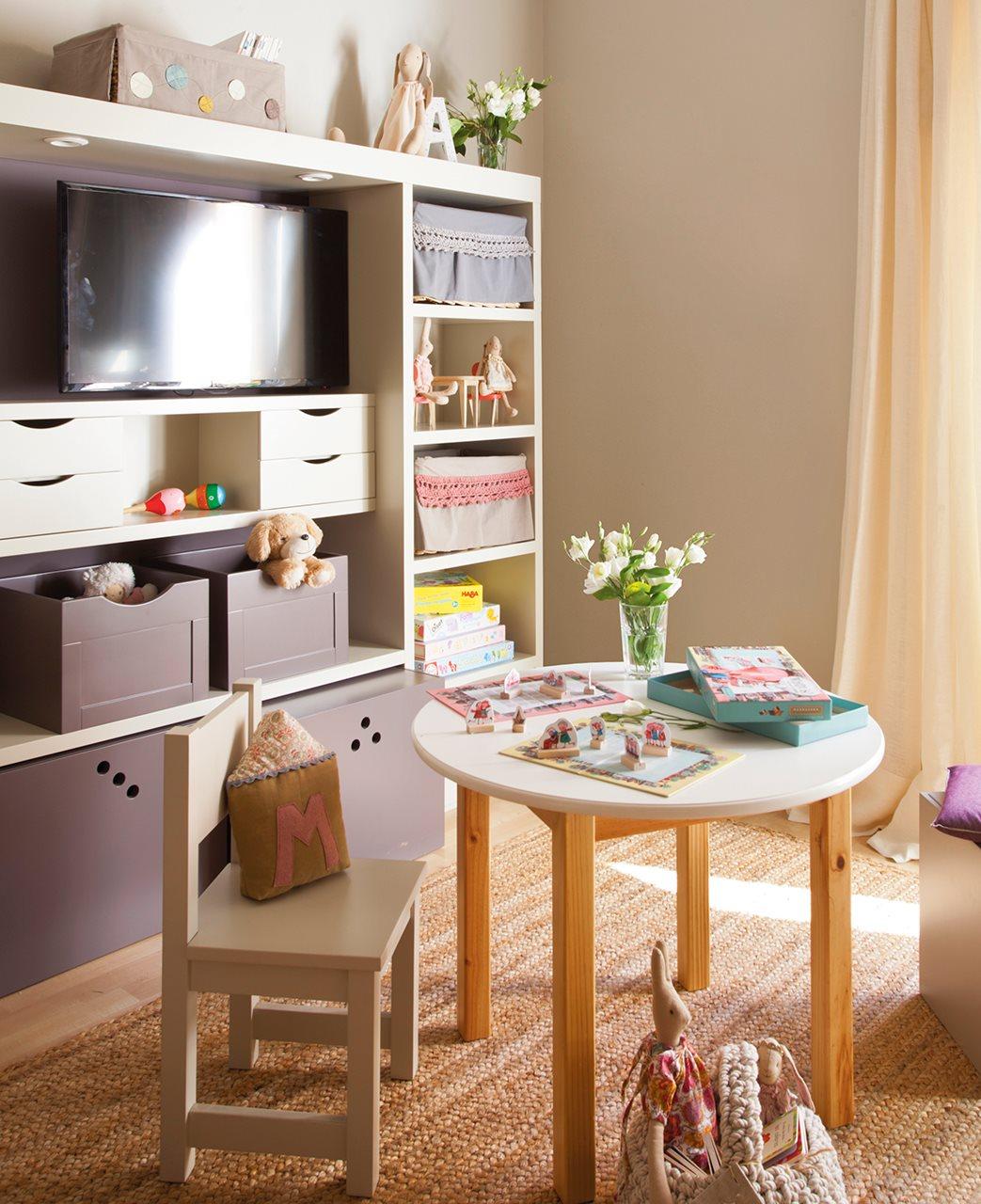 Ideas de almacenaje en habitaciones de ni os - Almacenaje dormitorio ...