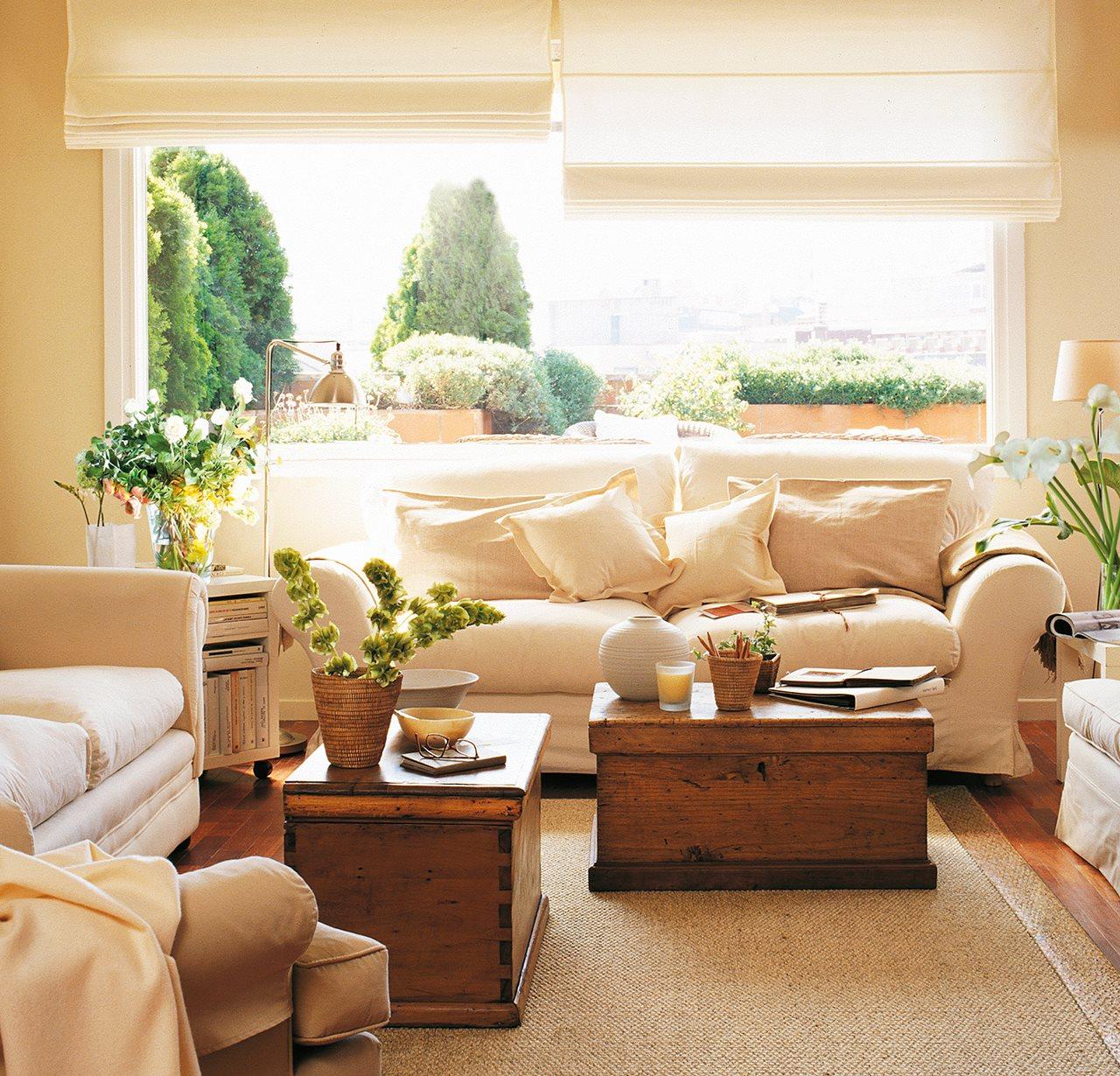 Muebles auxiliares de sal n for Mesa auxiliar salon