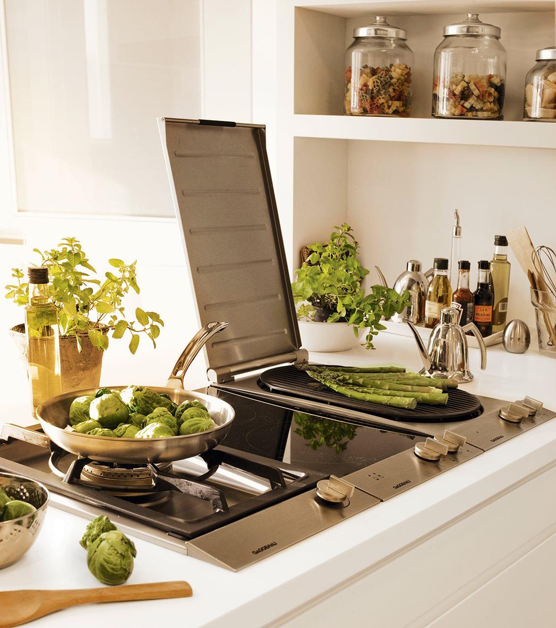 La cocina de los mil cajones - Placa de cocina ...
