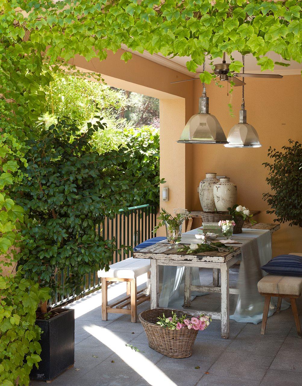 P rgolas on pinterest - Comedores exteriores para terrazas ...