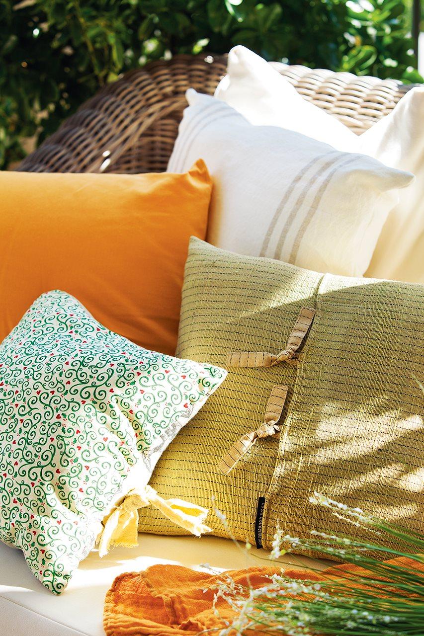 Ideas para redecorar tu casa - Cojines de exterior ...