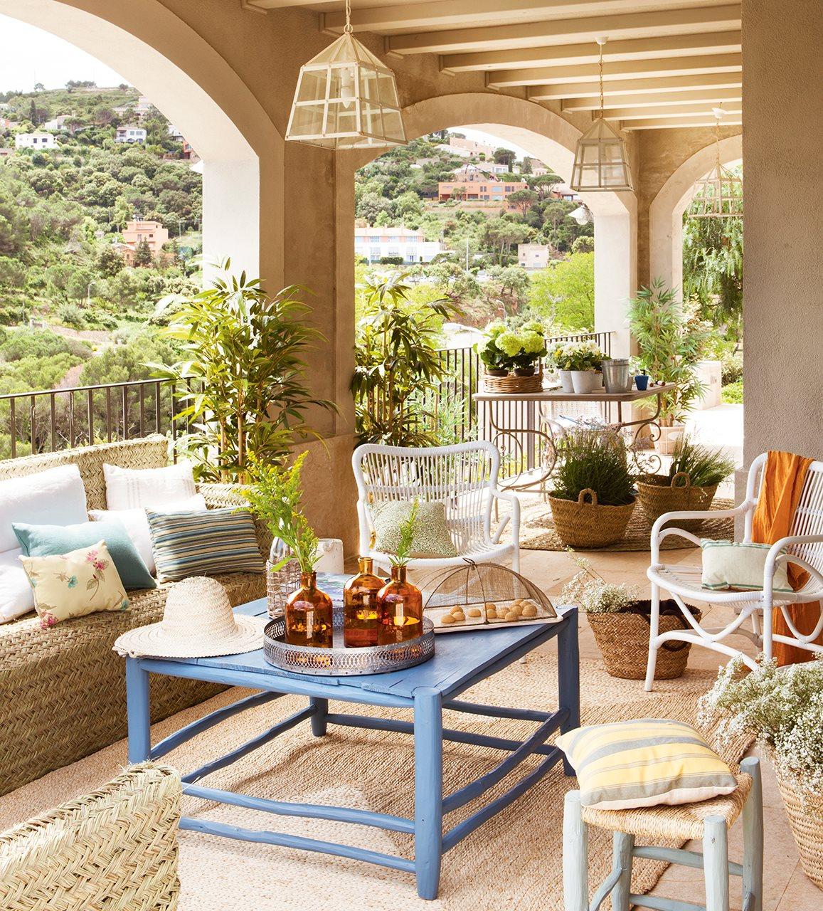 Ideas para redecorar tu casa - Decorar porche pequeno ...