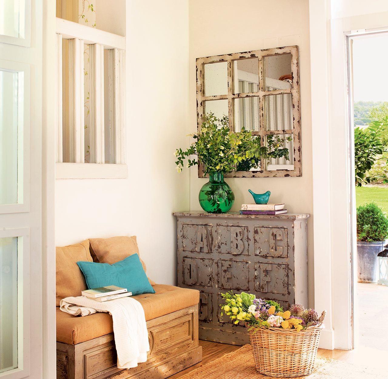 Ideas para redecorar tu casa - Muebles recibidores pequenos ...