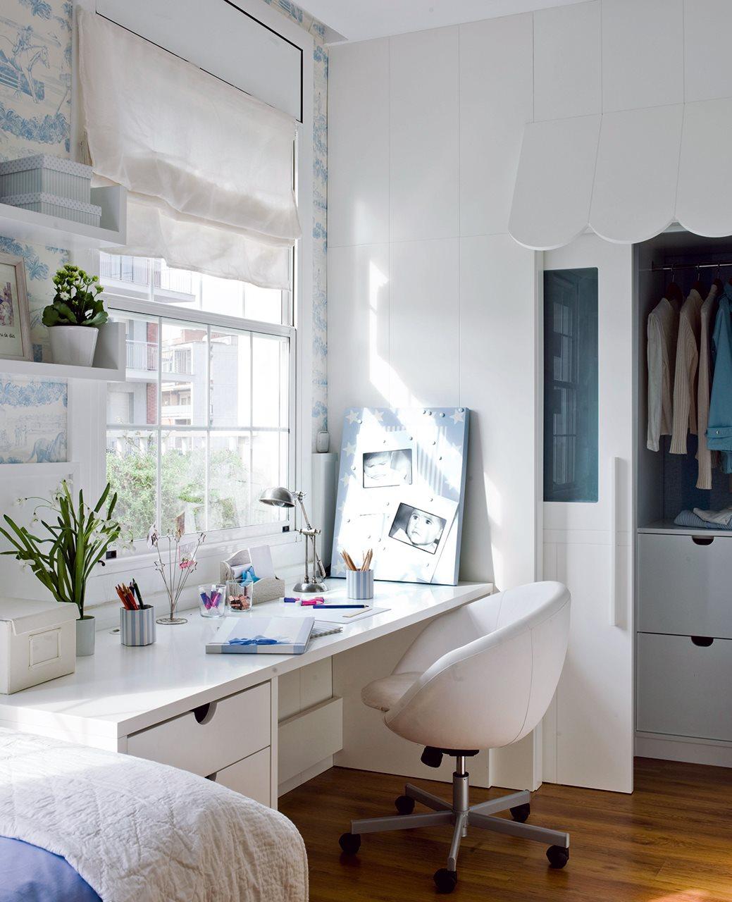 Tienes un rinc n haz un estudio - Ambientes de dormitorios ...