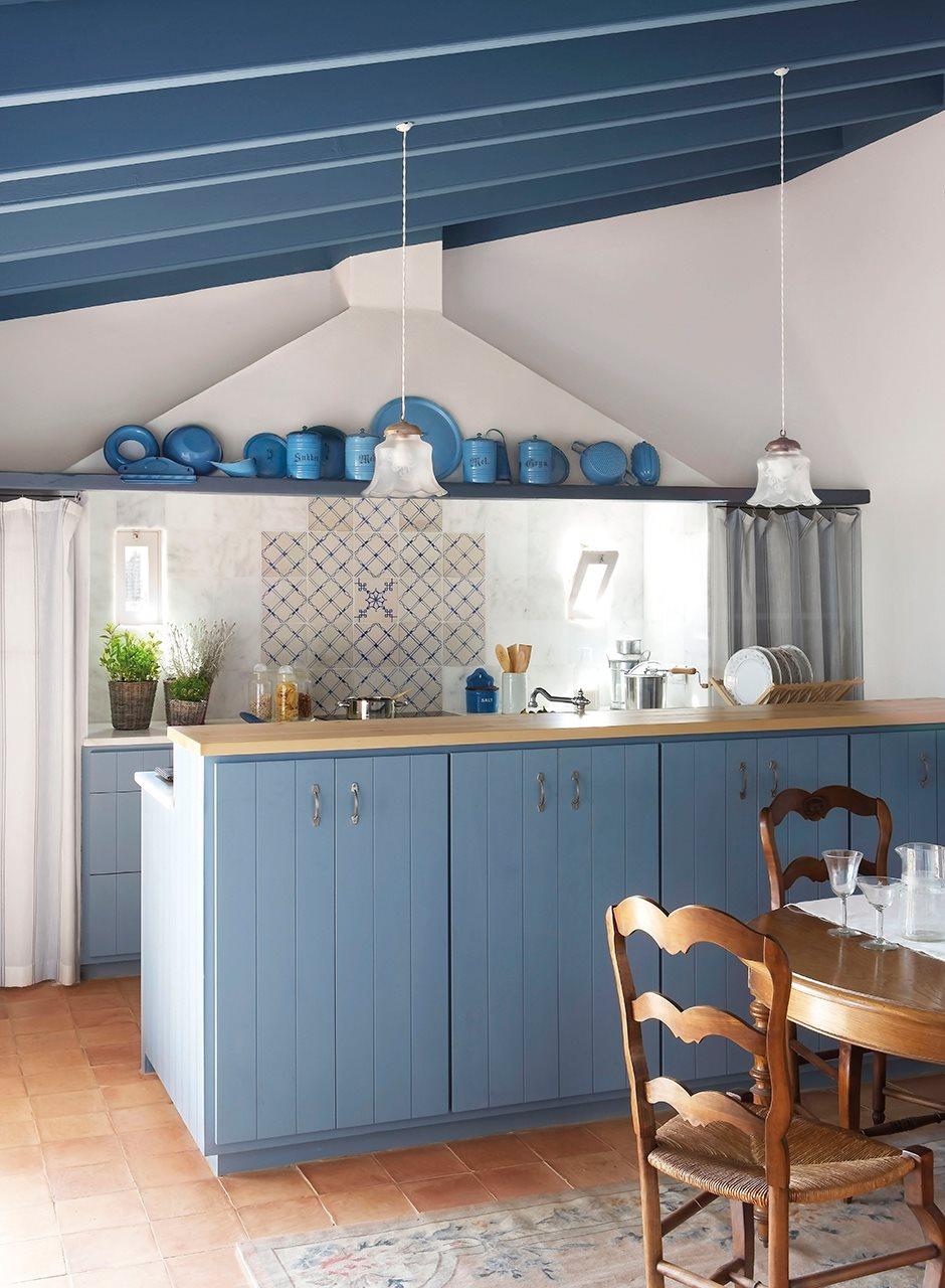 Decorar en azul - Cosas rusticas para decorar casa ...