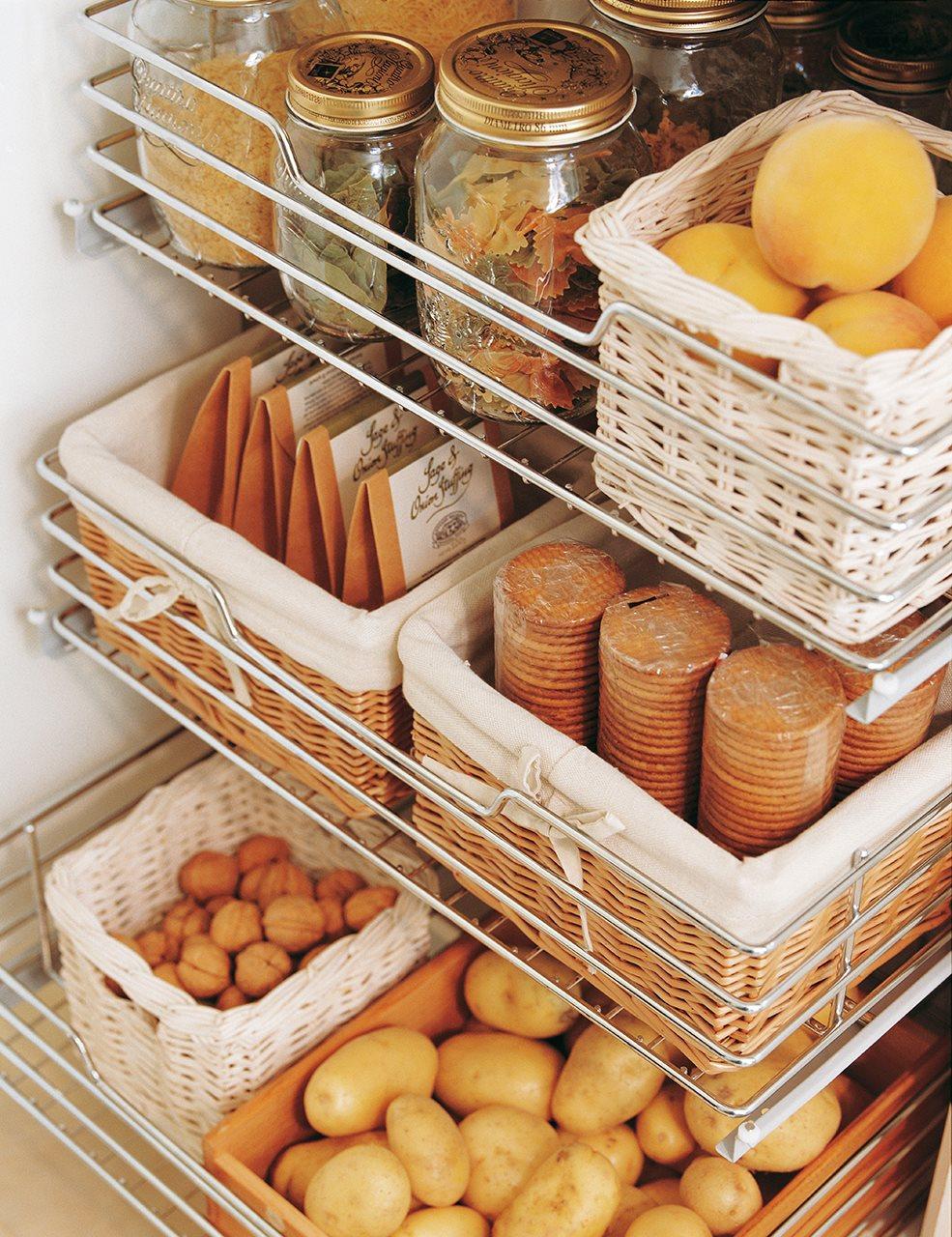 C mo ordenar la despensa - Ikea cestas cocina ...