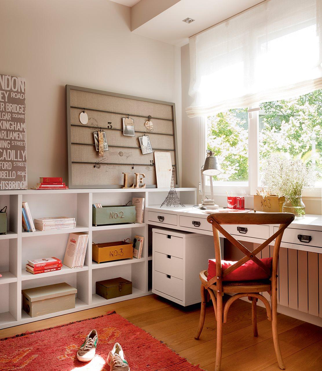 tres dormitorios con soluciones geniales