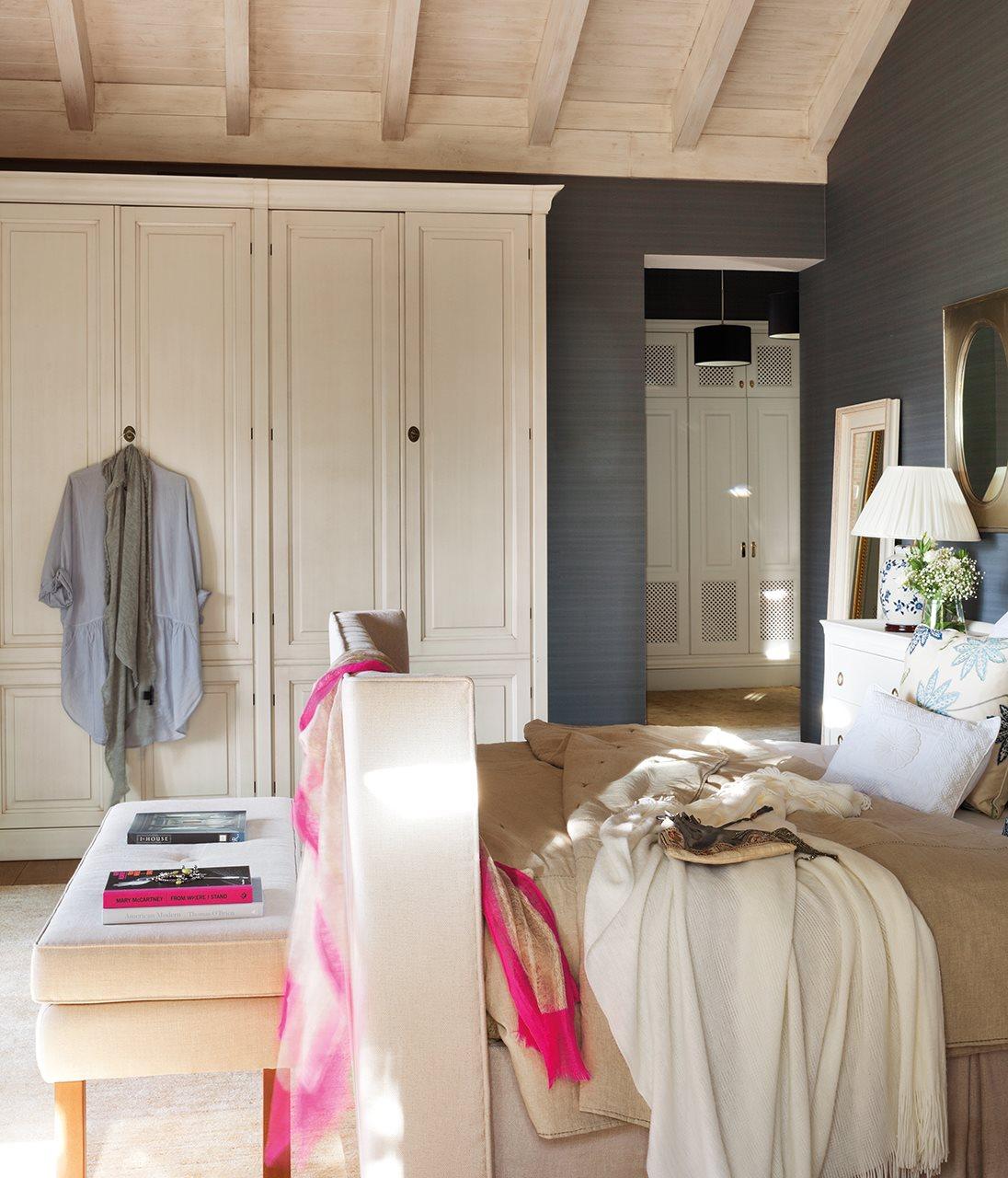 Integrar el armario - Oleos para dormitorios ...