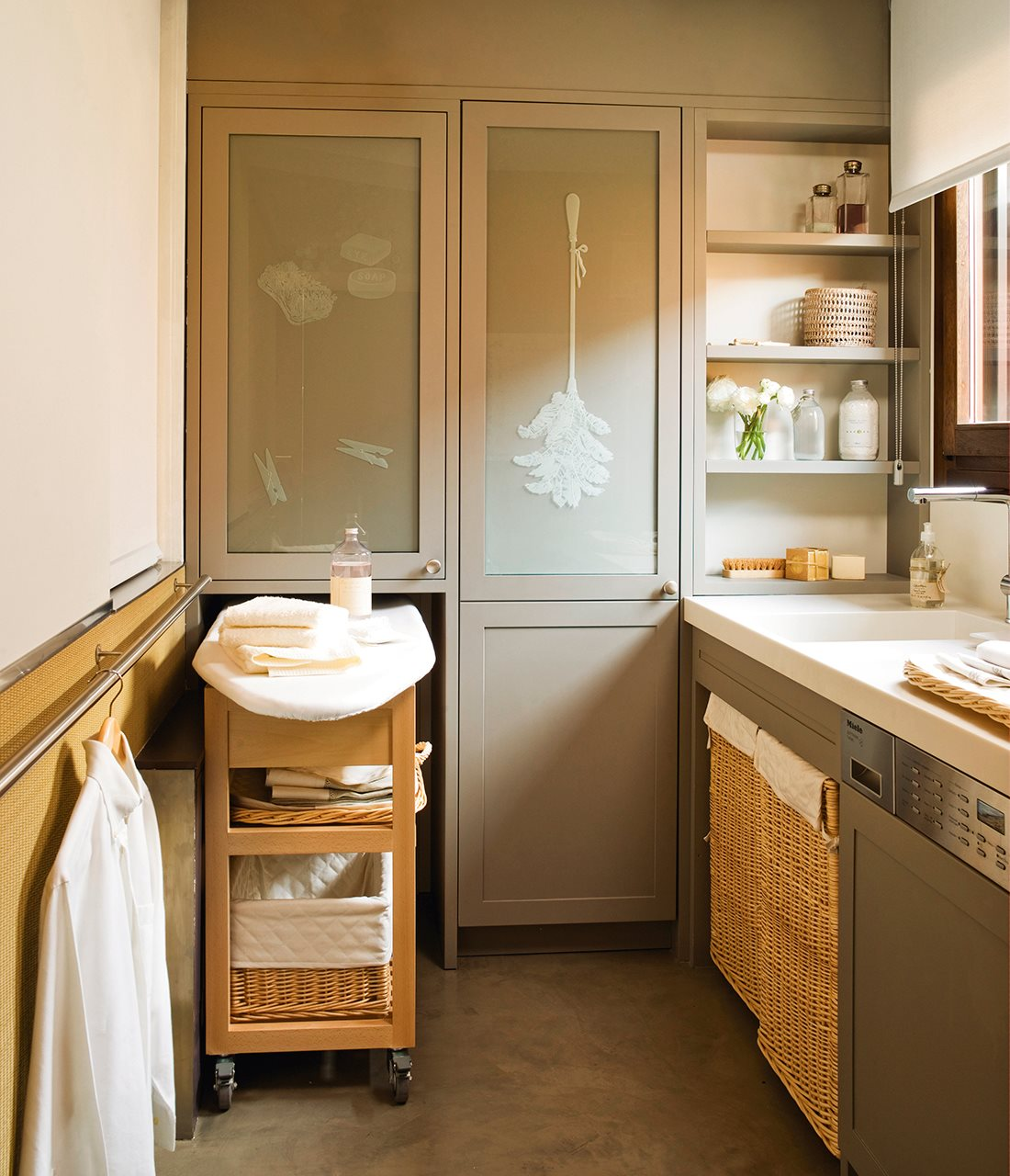 Un lavadero con todo en solo 3m2 for Bagno 6 mq