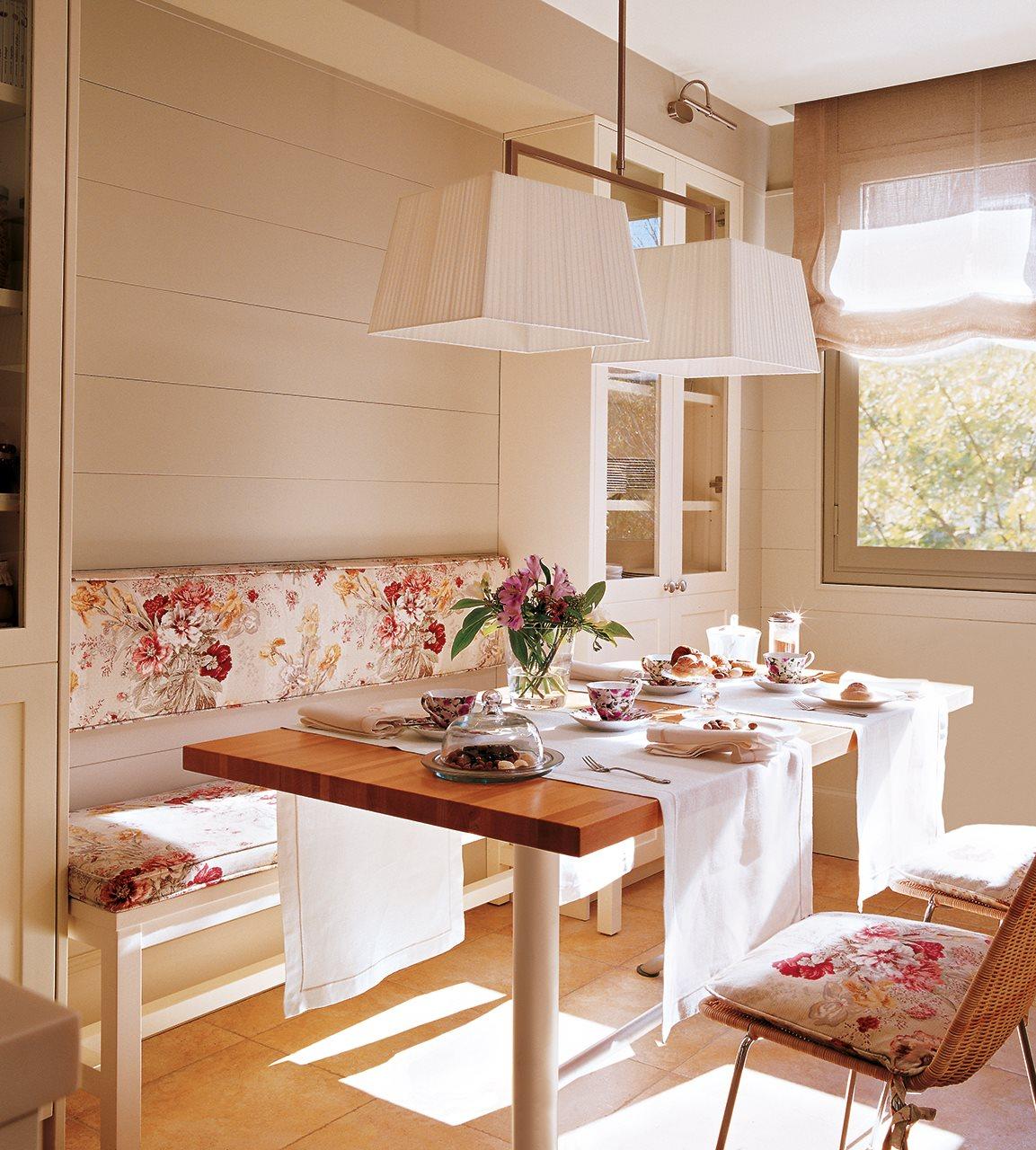 C mo aprovechar el espacio en cocinas peque as for Comedor tipo barra