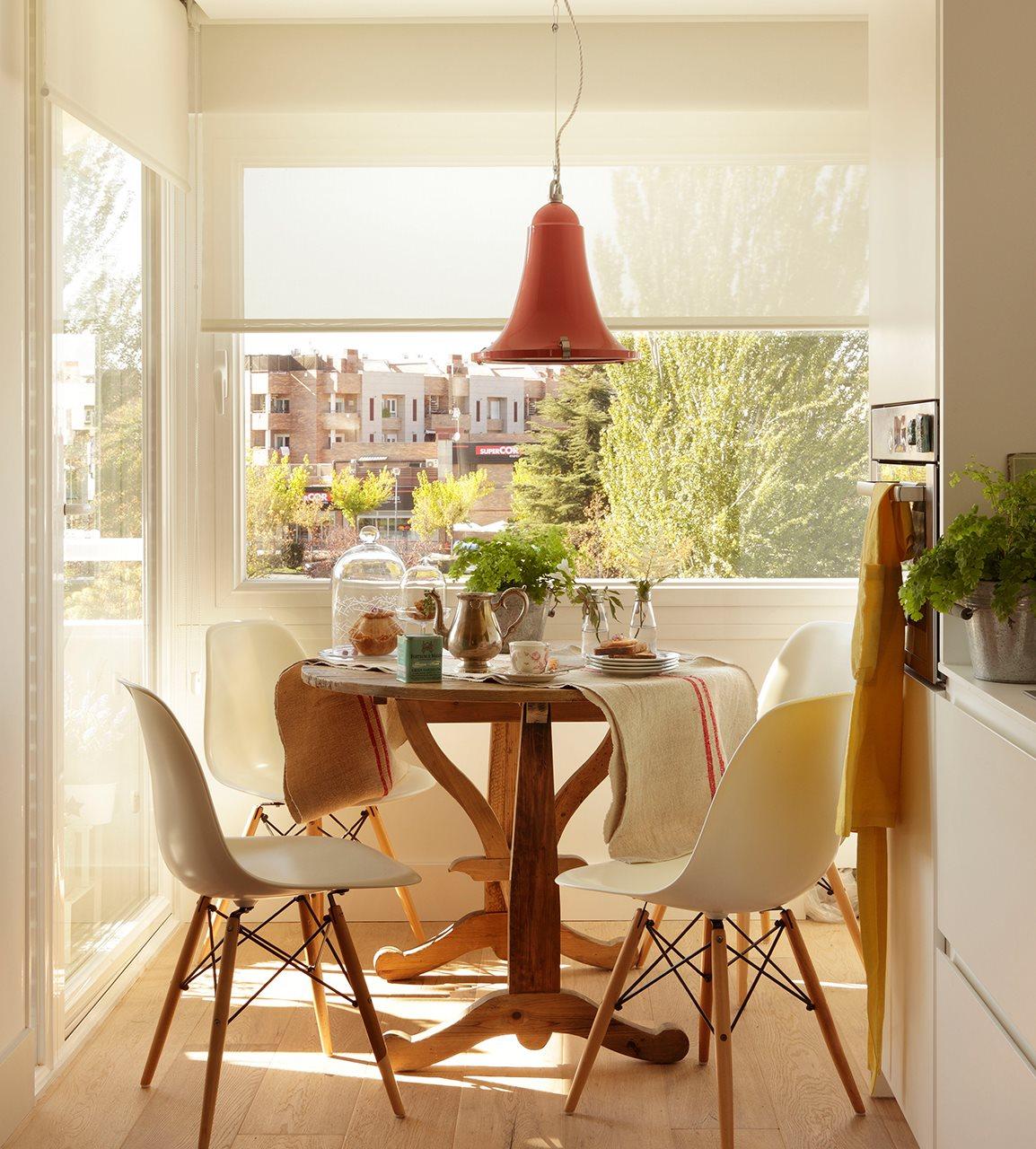 C mo aprovechar el espacio en cocinas peque as for Cocina office pequena
