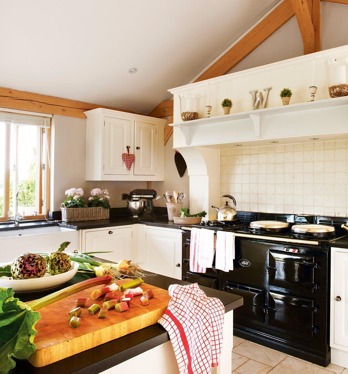 La casita de lady sophia - Cocina con horno ...