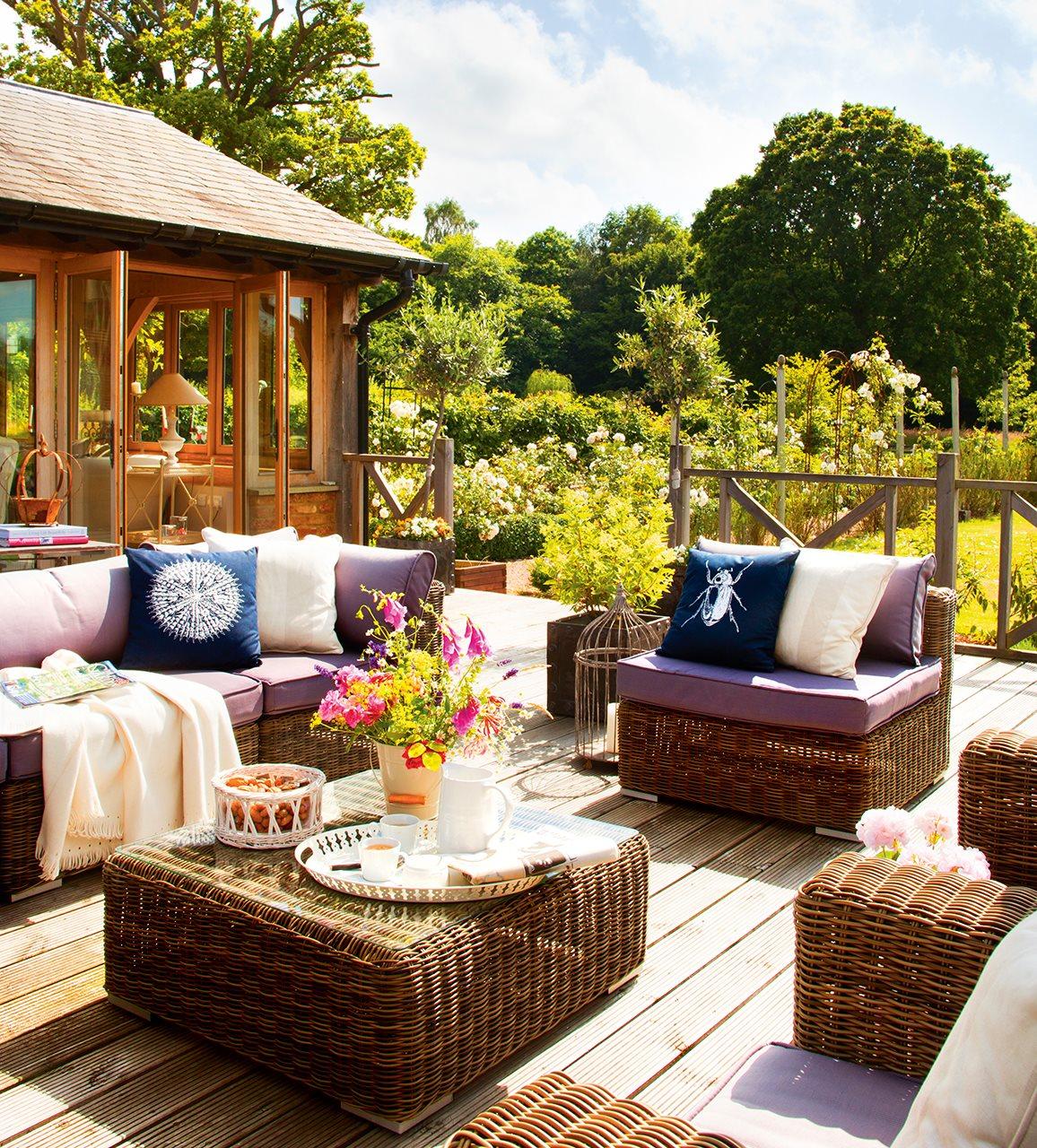 La casita de lady sophia - Mesa de terraza ...