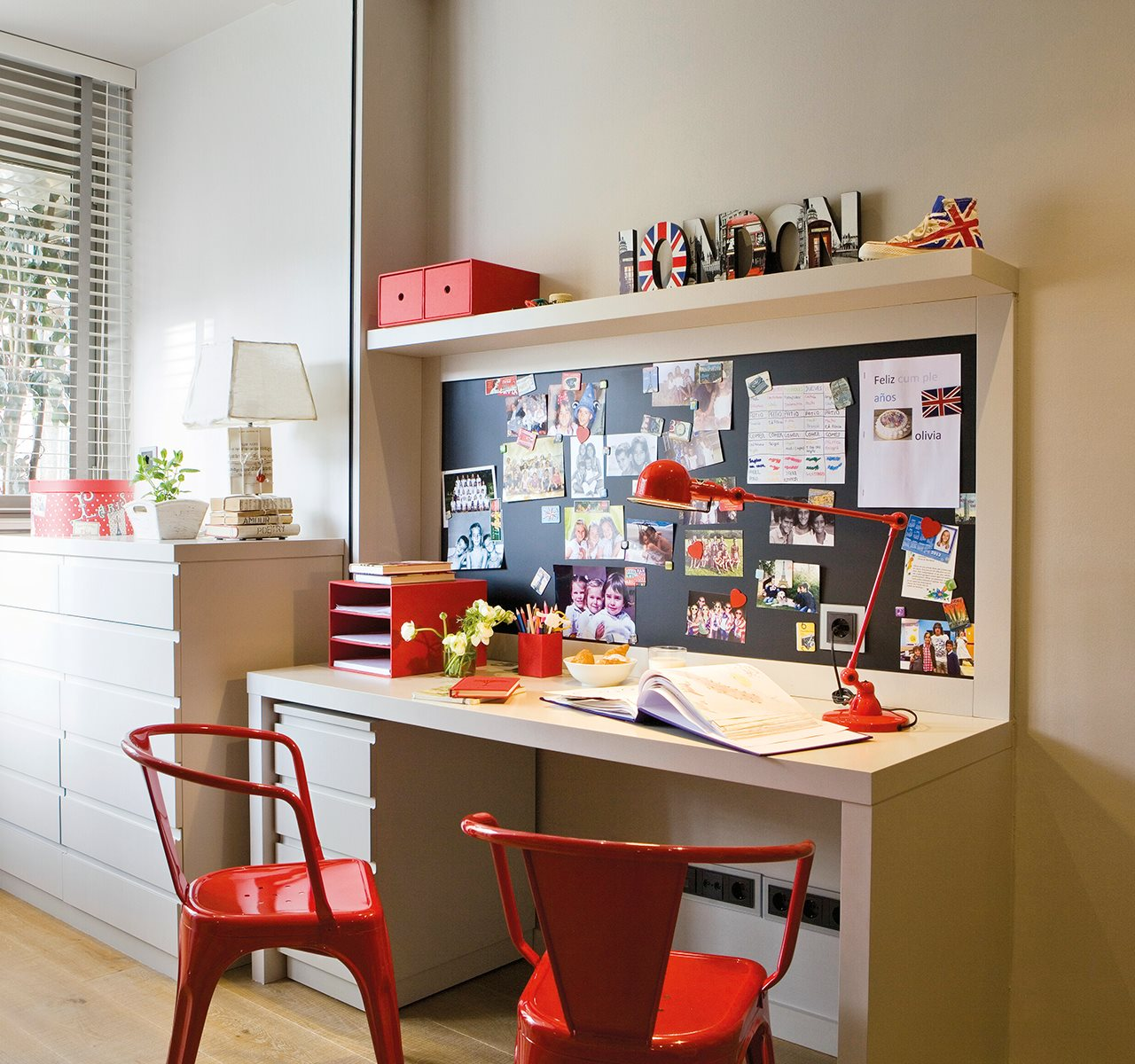 15 estudios no aburridos - Ideas para decorar un estudio ...