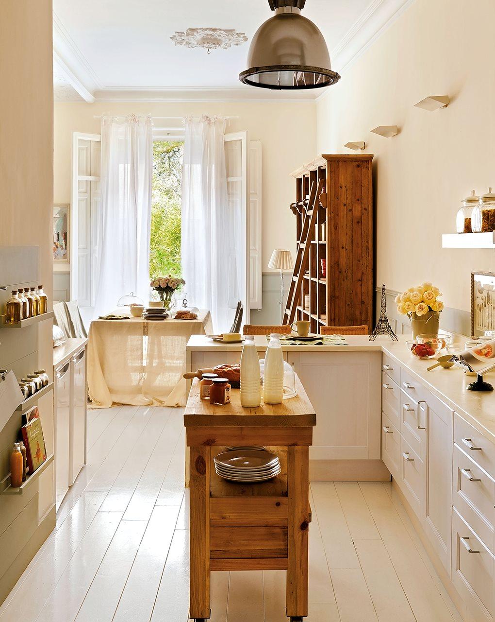 3 cocinas abiertas muy bien integradas - Cocinas con islas pequenas ...