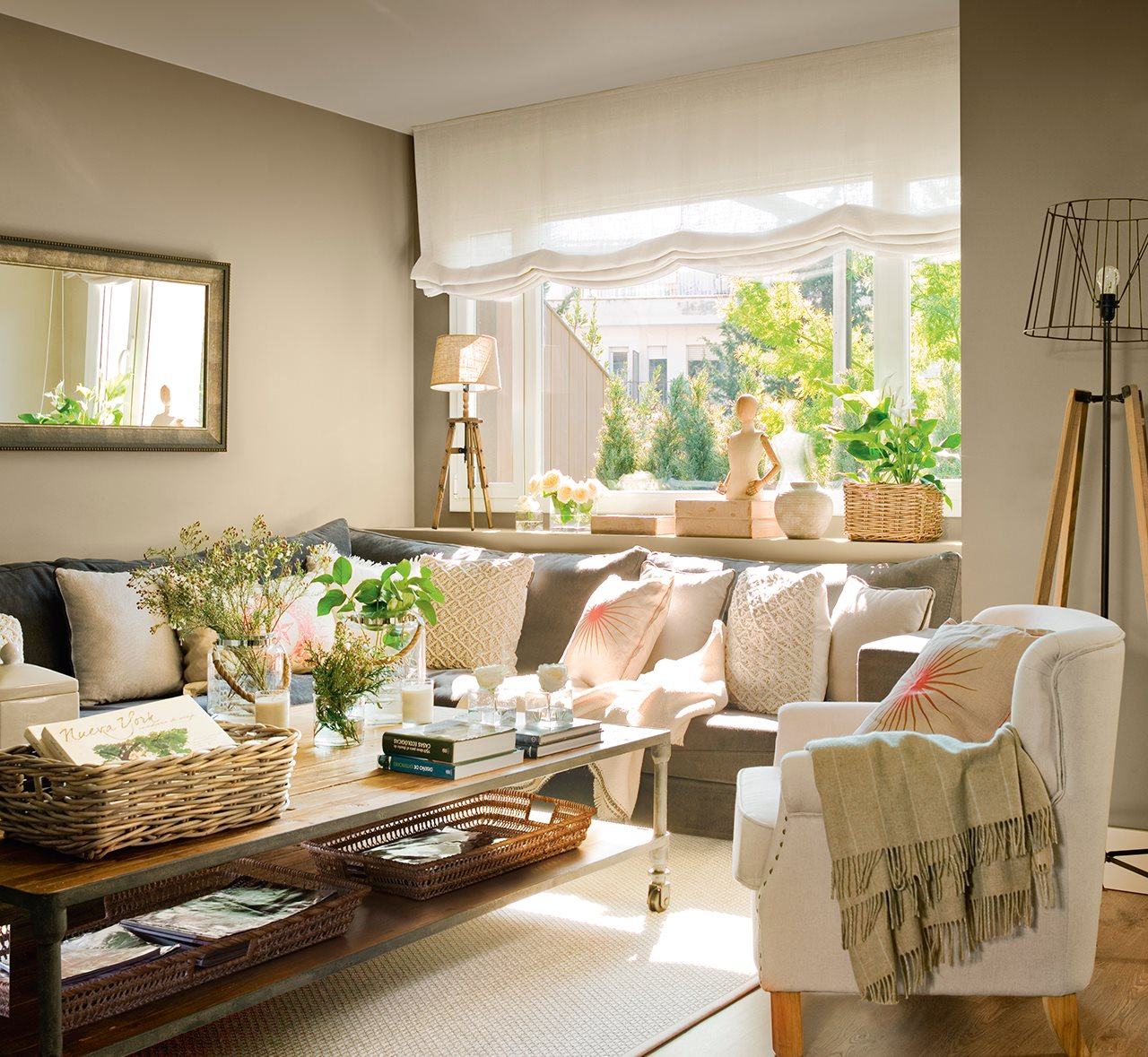 Reforma para ampliar luz y espacio for El mueble salon comedor