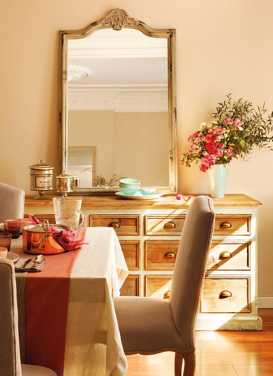 Aparador Em U Madeira ~ Piezas must have para un salón comedor con más estilo