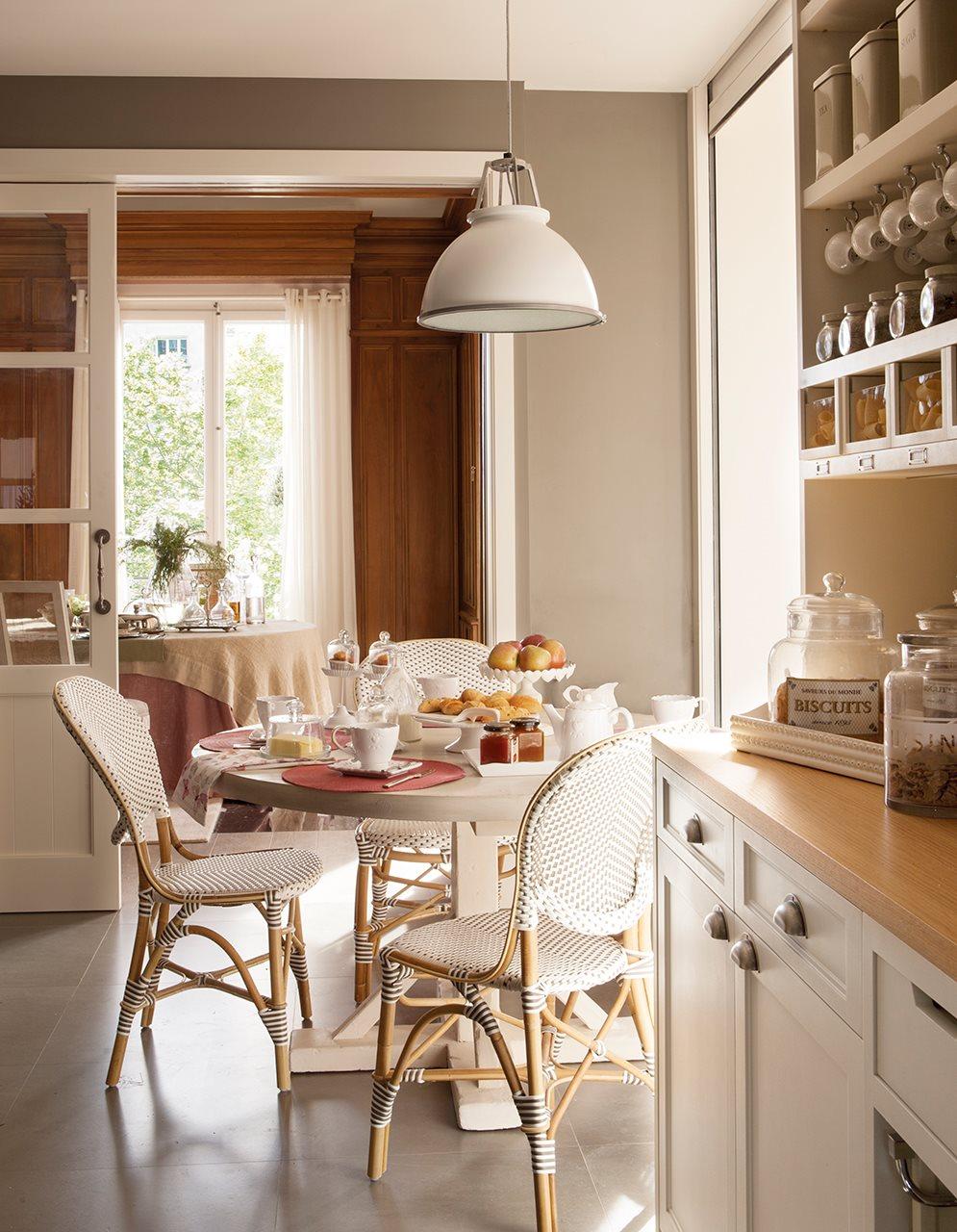 Consigue el comedor perfecto for Cocina con comedor diario
