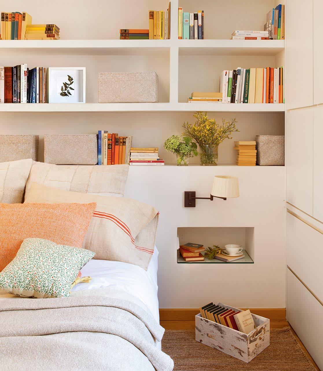Un piso familiar reformado para ganar luz y comodidad - Mesillas de dormitorio ...