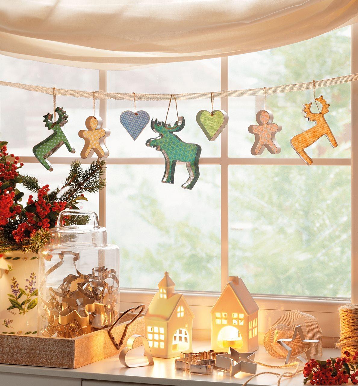 15 ideas para decorar la casa esta navidad - Adornar la casa en navidad ...