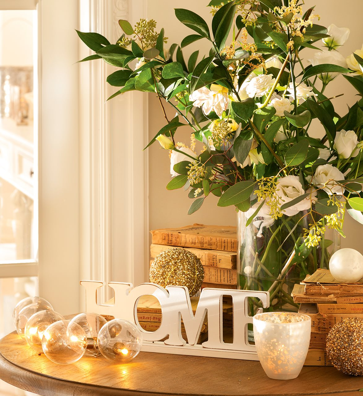 15 ideas para decorar la casa esta navidad for Ver como decorar una casa