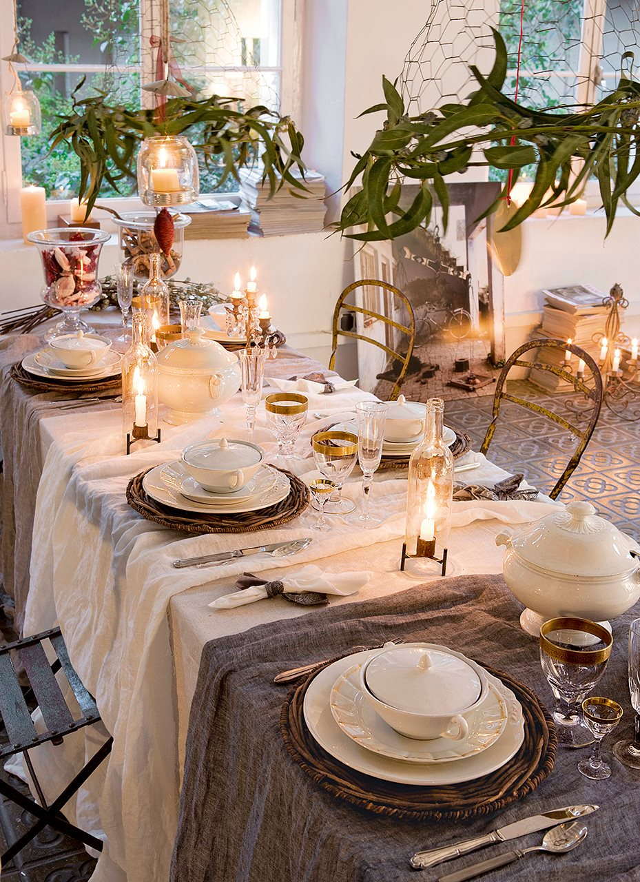 Mesas listas para celebrar - Caminos de mesa ikea ...