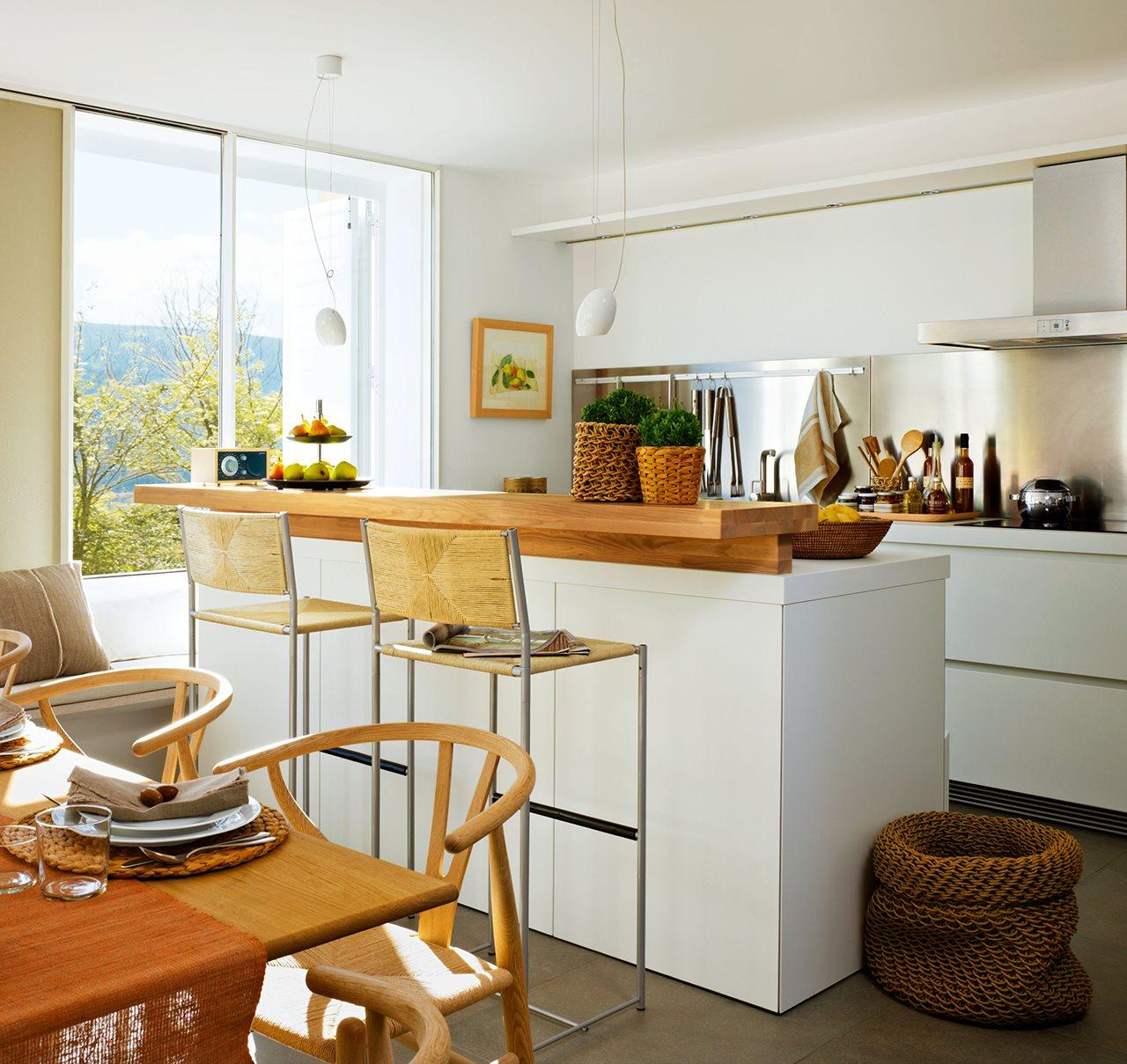 Los 9 mejores dise os de cocinas office - Sobre encimera cocina ...