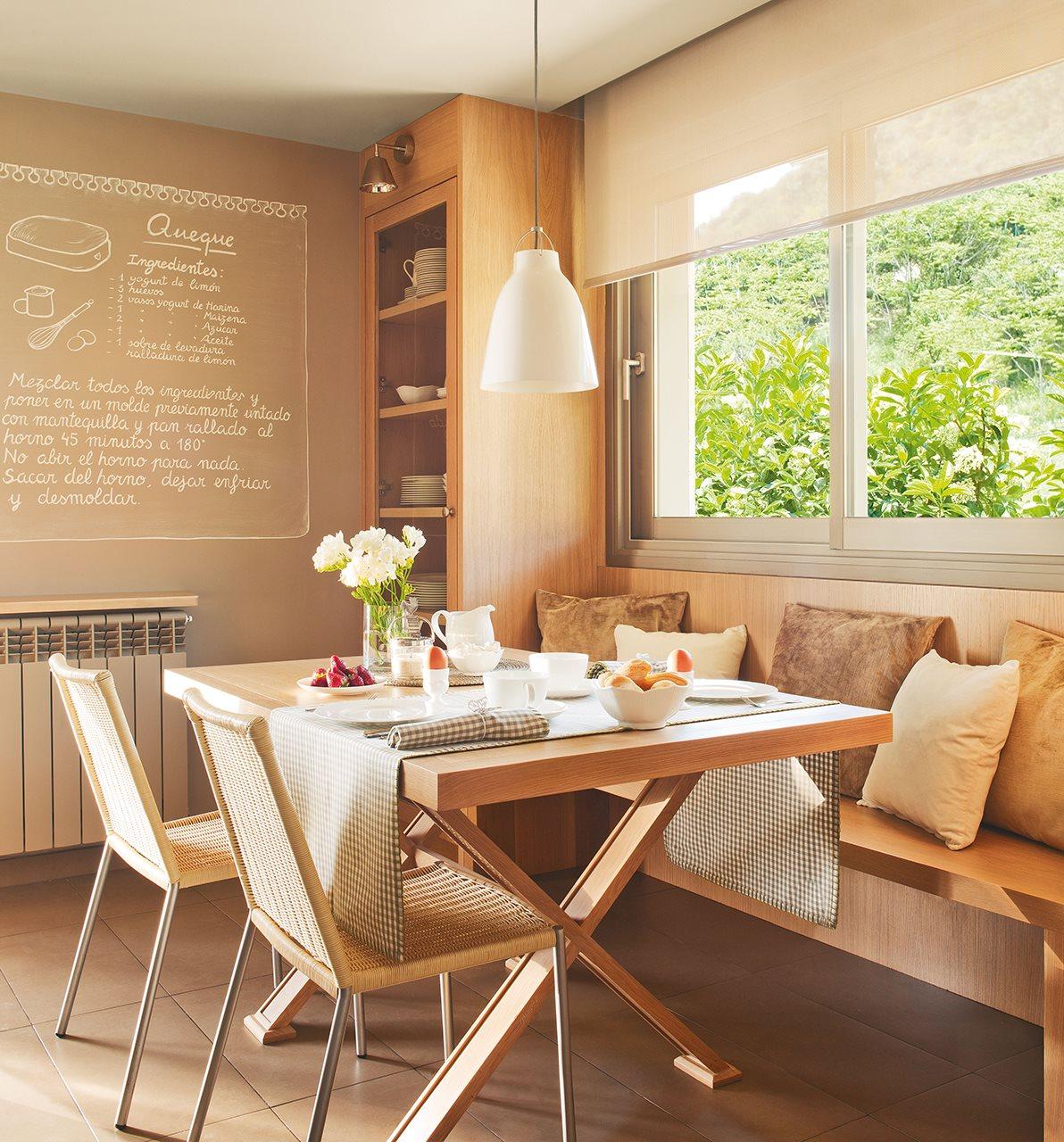 Los 9 mejores dise os de cocinas office for Mesas de cocina con banco